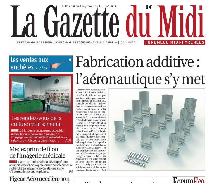 Couverture Gazette du Midi